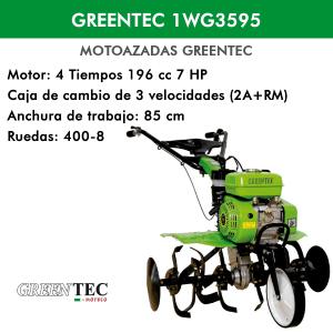Motoazada Greentec GT1WG3595