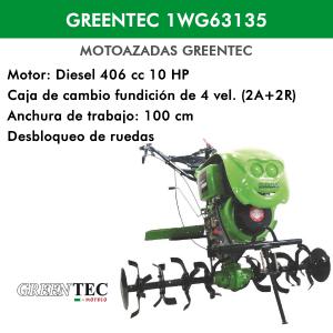 Motoazada Greentec 1WG63135