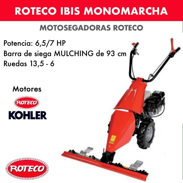 Motosegadora Roteco IBIS Monomarcha