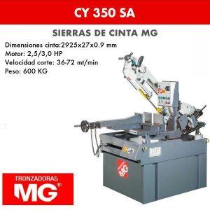 Sierra de cinta MG CY 350 SA