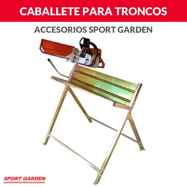 Caballete para cortar troncos Sport Garden
