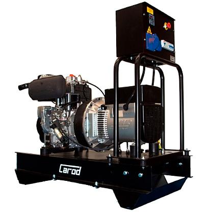 Single Phase Electric Generator Carod CMLD-10L with Lombardini 9LD625.2 engine