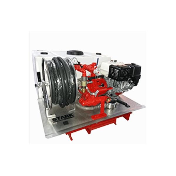Hidrolimpiadora autónoma gasolina STARK EQCI4002RD5013H13 motor Honda GX390