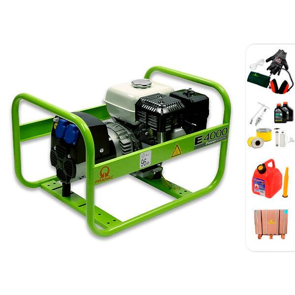 Generador eléctrico monofásico PRAMAC E4000
