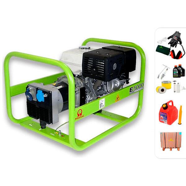 Generador eléctrico monofásico PRAMAC E5000