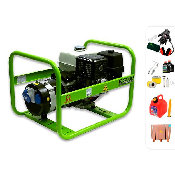 PRAMAC E8000 single phase electric generator