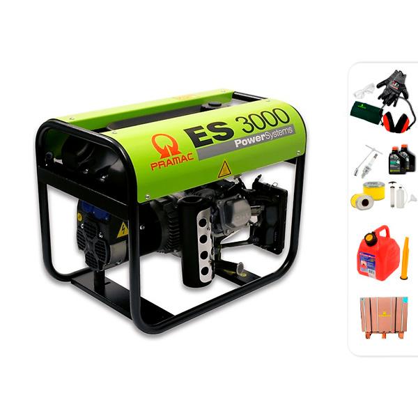 PRAMAC ES3000 single phase electric generator