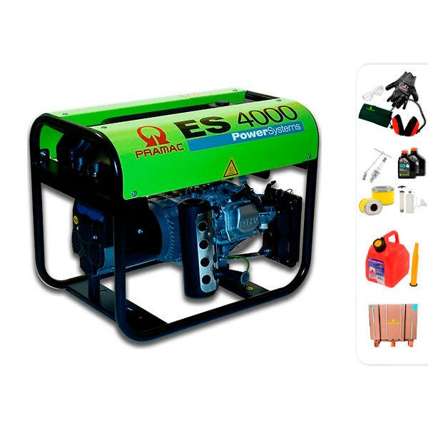 Generador eléctrico monofásico PRAMAC ES4000