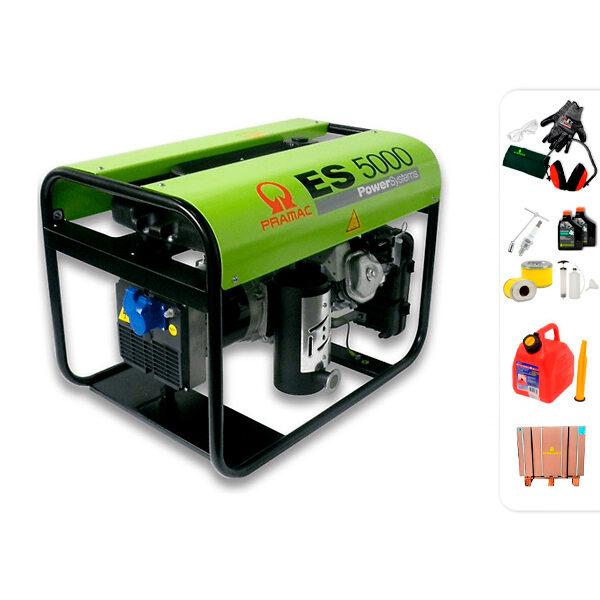 Generador eléctrico monofásico PRAMAC ES5000