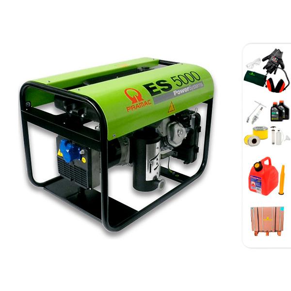 PRAMAC ES5000 single phase electric generator