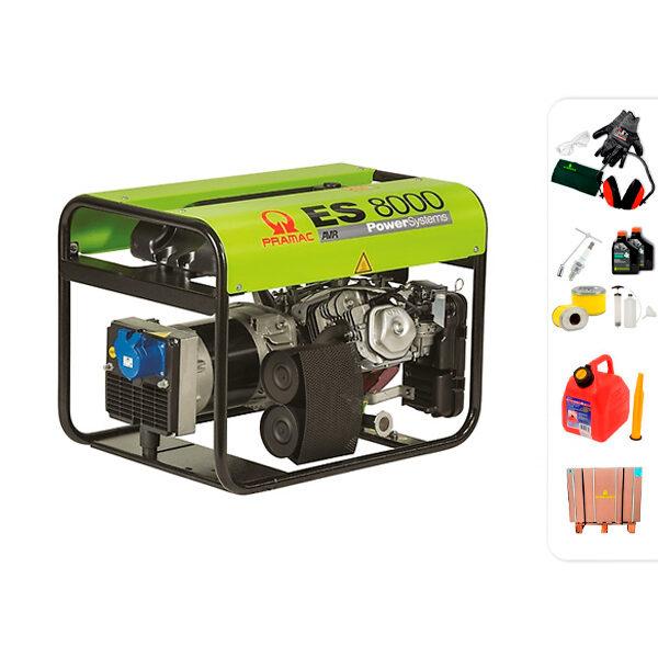 Generador eléctrico monofásico PRAMAC ES8000