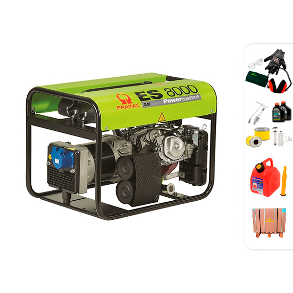 PRAMAC ES8000 single phase electric generator