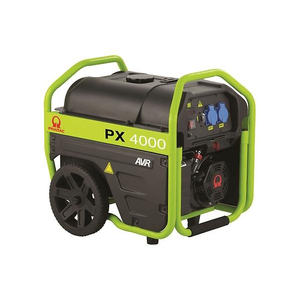 Generador eléctrico monofásico PRAMAC PX4000
