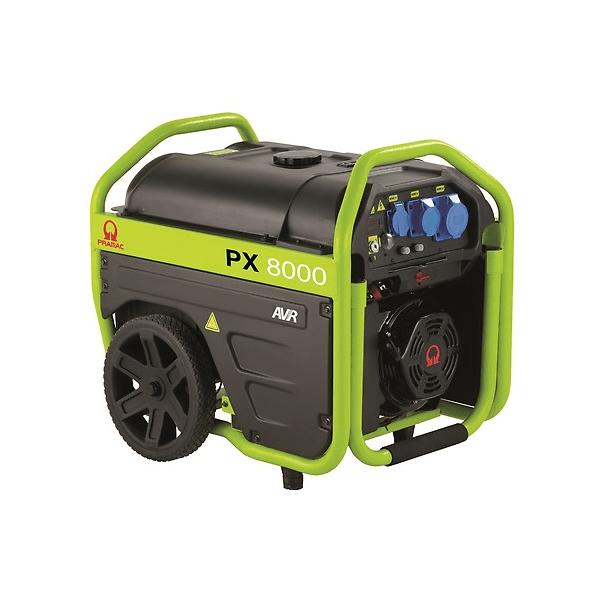Generador eléctrico monofásico PRAMAC PX8000