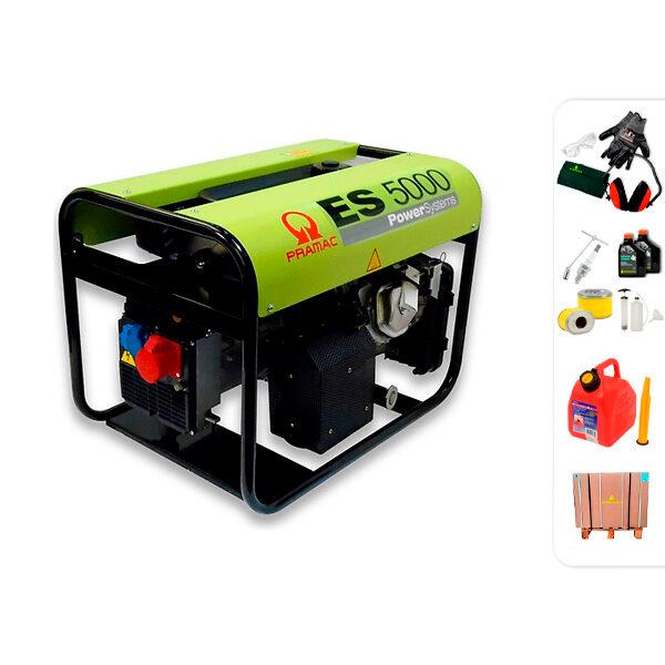 Generador eléctrico trifásico PRAMAC ES5000