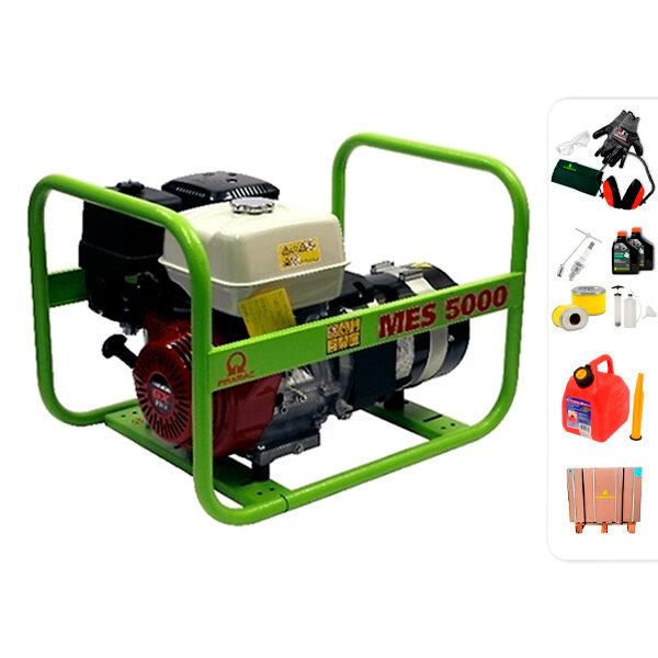 Generador eléctrico trifásico PRAMAC MES5000