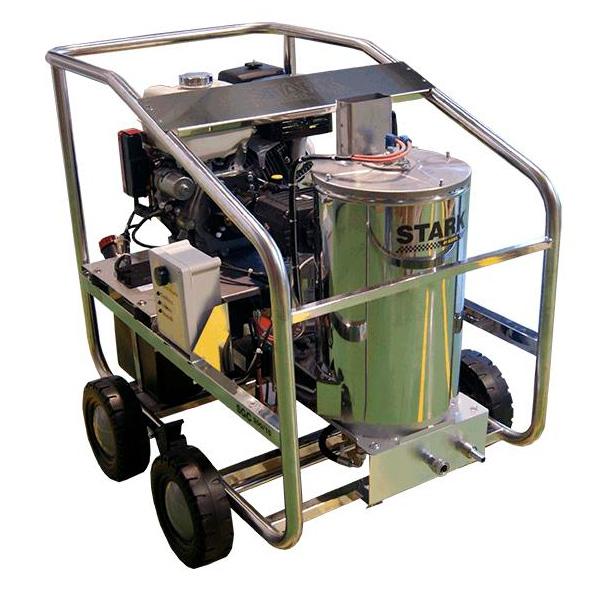 Hidrolimpiadora autónoma diesel STARK SDC 200/15 motor Lombardini