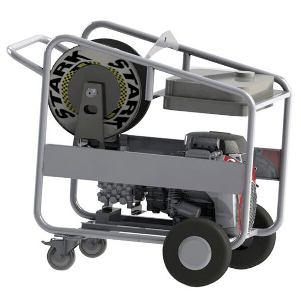 Hidrolimpiadora autónoma diesel STARK SDF 130/50 motor Lombardini