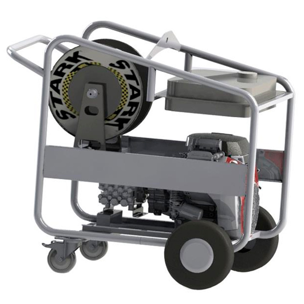 Hidrolimpiadora autónoma diesel STARK SDF 400/15 motor Lombardini