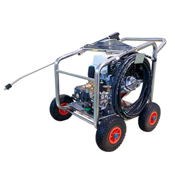 Hidrolimpiadora autónoma gasolina SGFE 250/15 I13 motor Honda GX390