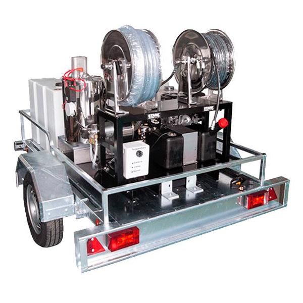Hidrolimpiadora autónoma gasolina STARK EQ.RM AC 400-200/15 motor Honda GX390