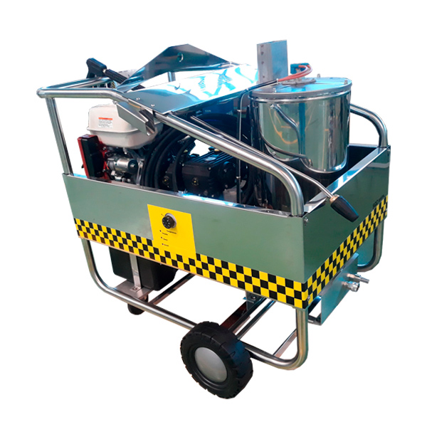Hidrolimpiadora autónoma gasolina STARK SGC 200/21 L motor Honda GX390