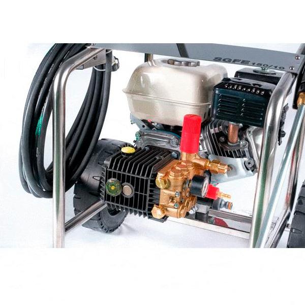 Hidrolimpiadora autónoma gasolina STARK SGFE 150/10 L motor Honda GX160