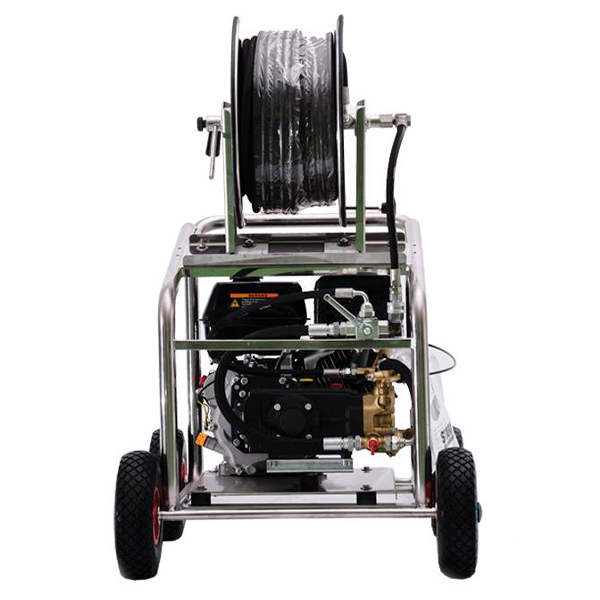 Hidrolimpiadora autónoma gasolina STARK SGFE 160/30 motor Honda GX390