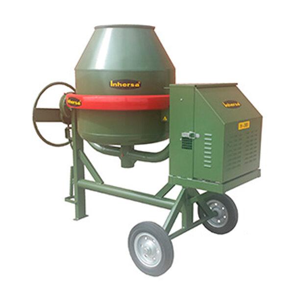Betonmischer Inhersa H-300 mit 5 verschiedenen Motoren