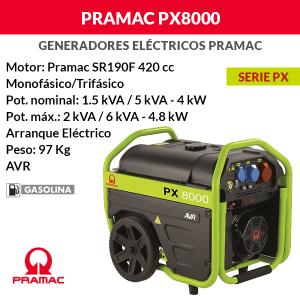 PX8000-trifasico