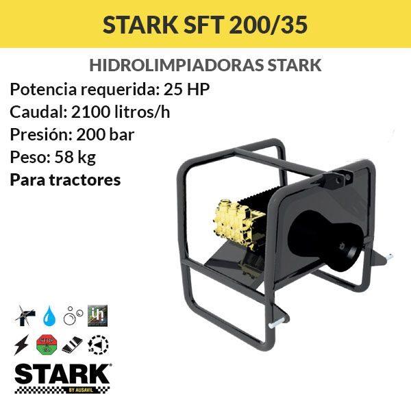 Hidrolimpiadora STARK SFT 200/35 PARA TRACTORES
