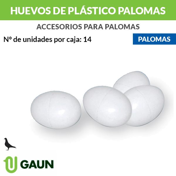 Huevos de plástico para palomas