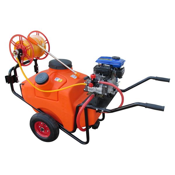 Carretilla pulverizadora motor gasolina 4T 100L