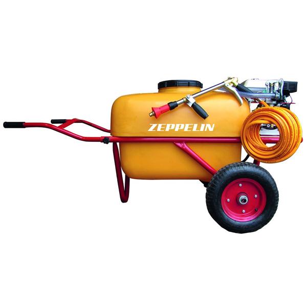 Carretilla pulverizadora motor gasolina 4T 200L