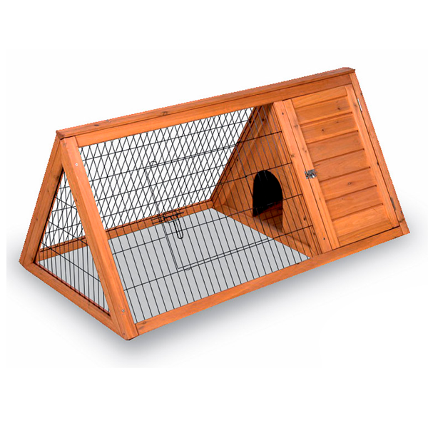 Maison en bois pour lapins. Modèle Toscane