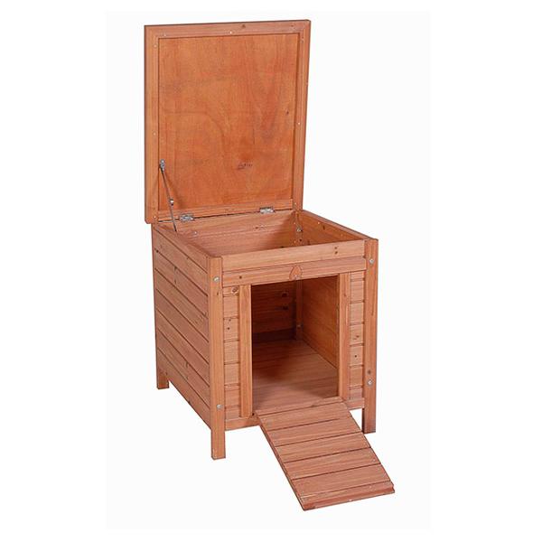 Maison en bois pour animaux de compagnie. Mod. Lisbonne