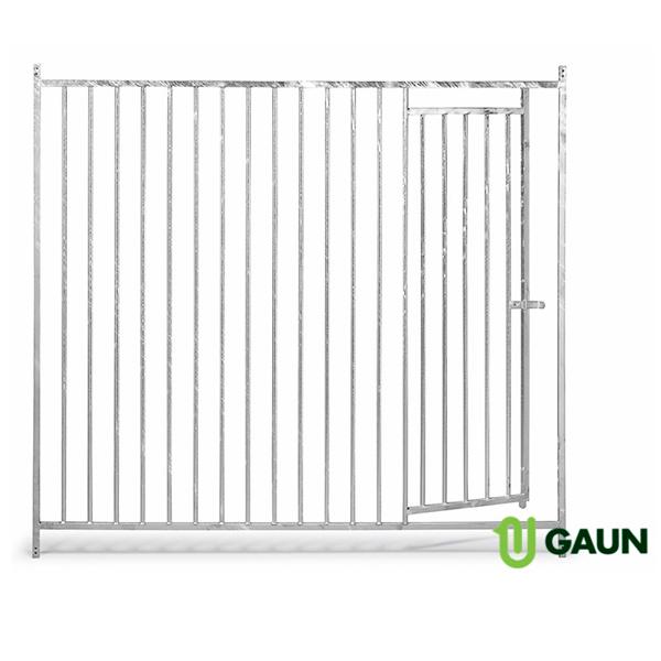 Frente barras 5 cm. con puerta