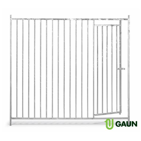 Frente barras con puerta