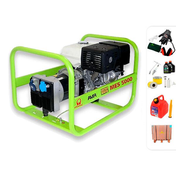 Generador eléctrico monofásico PRAMAC MES5000