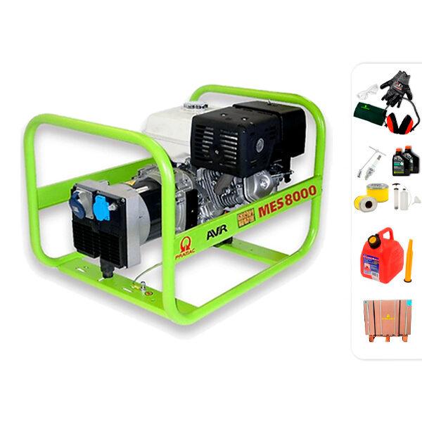 Generador eléctrico monofásico PRAMAC MES8000