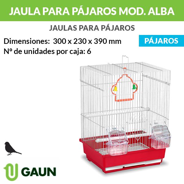 Jaula para pájaros. Modelo Alba
