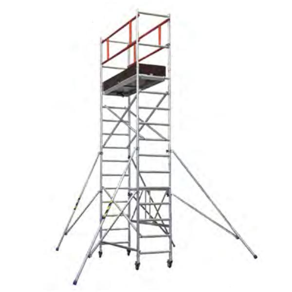 Andamio modular plegable Kompak KA