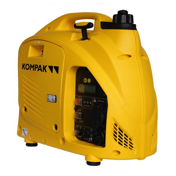 Generador eléctrico inverter 900 W Kompak KGG10i