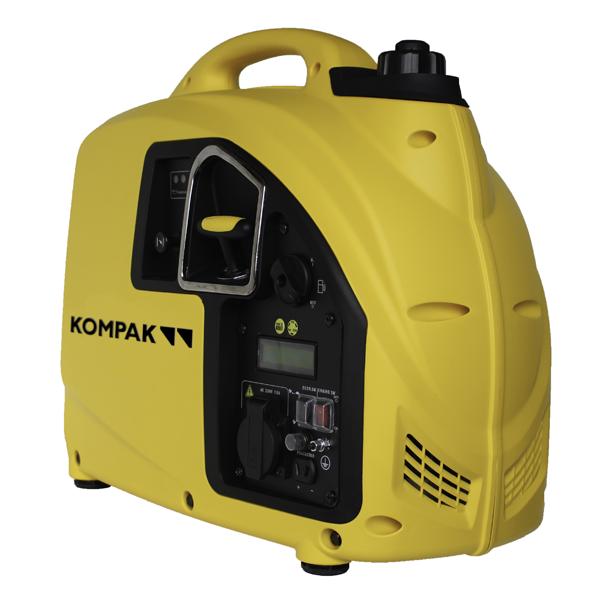 Generador eléctrico inverter 1600 W Kompak KGG20i