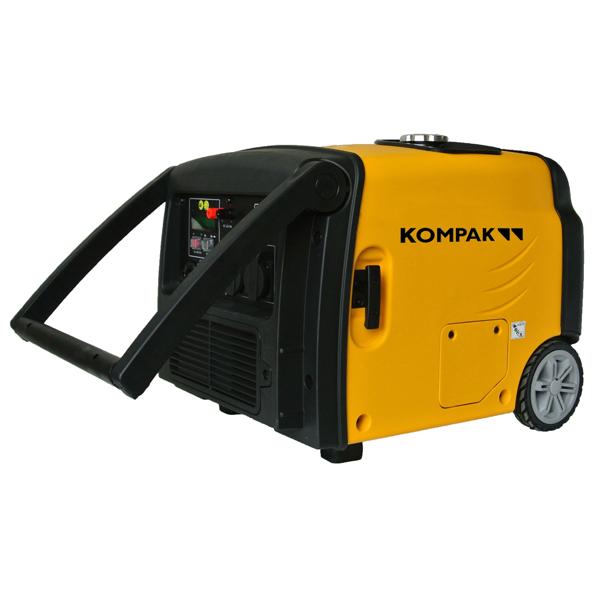 Generador eléctrico inverter 2800 W Kompak KGG35Ei
