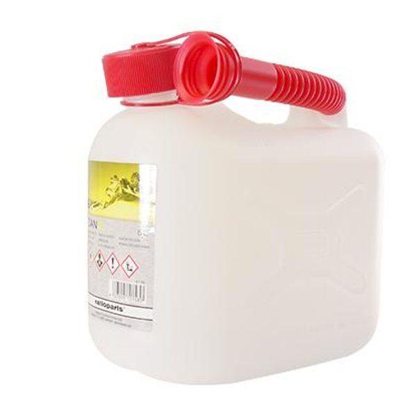 Bidón gasolina homologado plástico 5L Anova