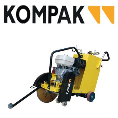 Cortadoras de suelo y hormigón Kompak