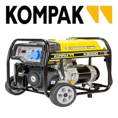 Generadores eléctricos Kompak