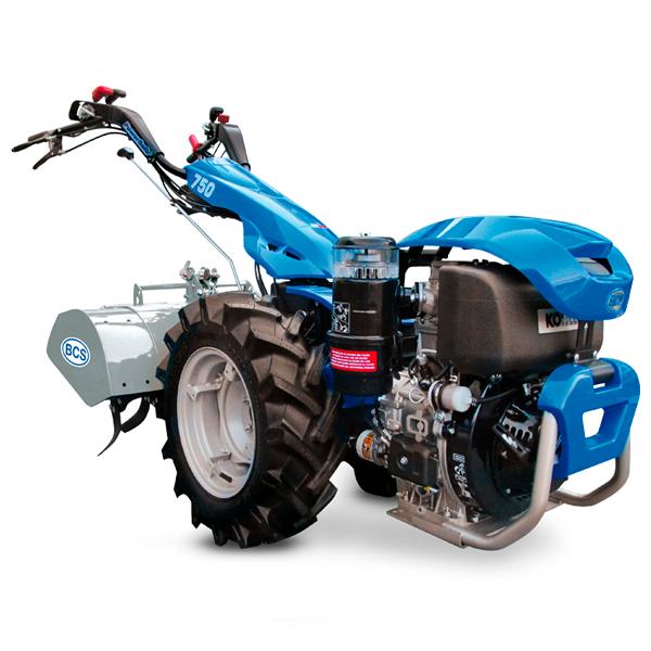 Motocultor BCS 750 Powersafe Diesel KOHLER KD440 11hp