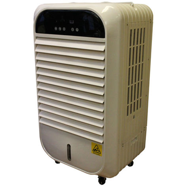Ayerbe 4800 m3 / hour evaporative air cooler without installation